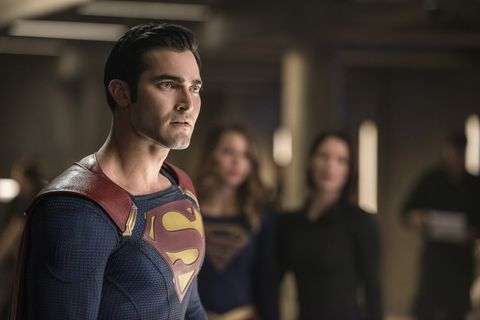 Superman's black suit explained: Why Tyler Hoechlin is
