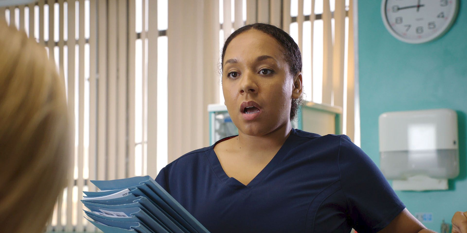 Nicky McKendrick in Holby City
