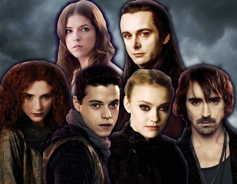 Twilight the cast of The Real
