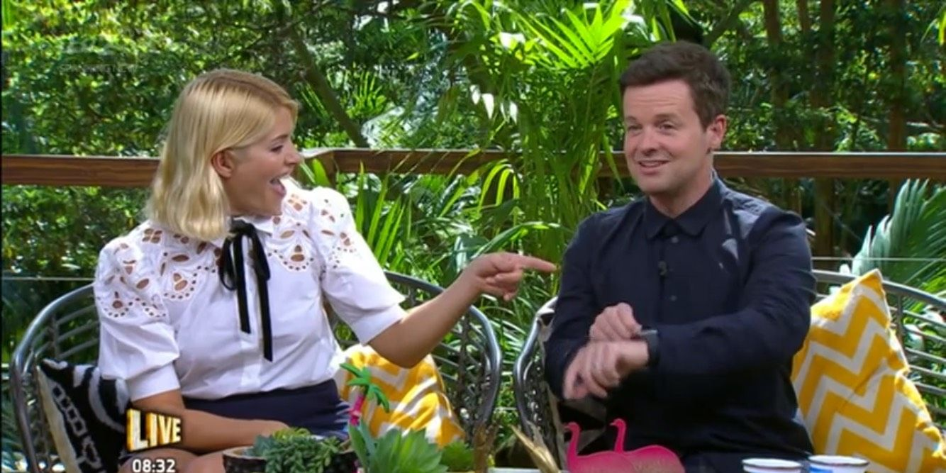 I'm a Celebrity: Extra Camp 11/29/18: Holly Willoughby and Dec Donnelly