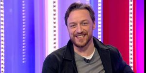 Stranger Things cameo on The One Show 11/30/18, James McAvoy