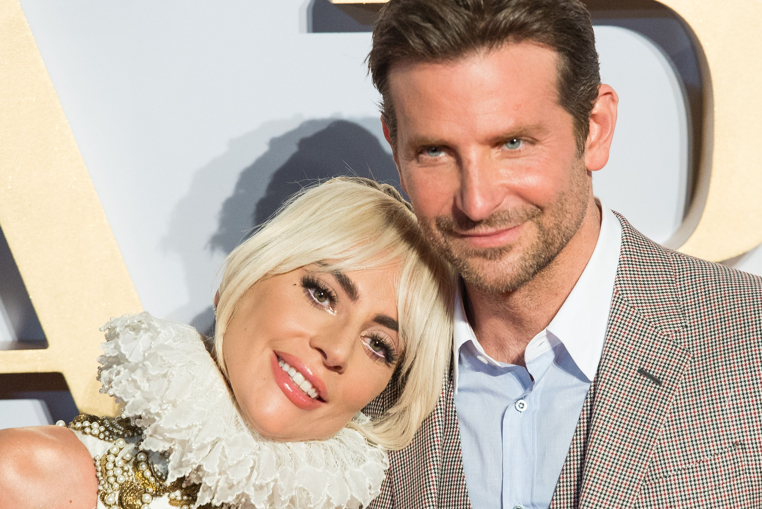 Lady Gaga and Bradley Cooper, UK premiere of A Star Is Born, September 2018