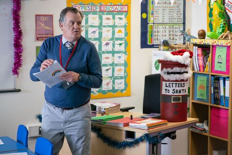 Brian Packham is hit by a surprise inspection in Coronation Street