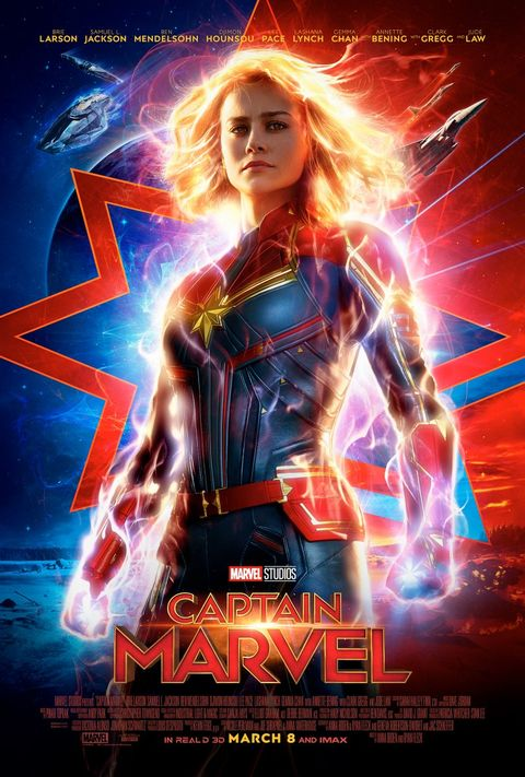 Captain Marvel Movie Cast Trailer Release Date Spoilers
