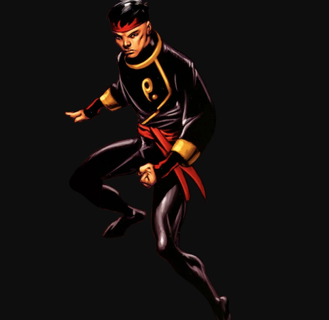 Marvel hero Shang-Chi, Master of Kung Fu