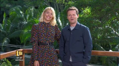 I'm a Celebrity 12/3/18: Holly Willoughby, Dec Donnelly