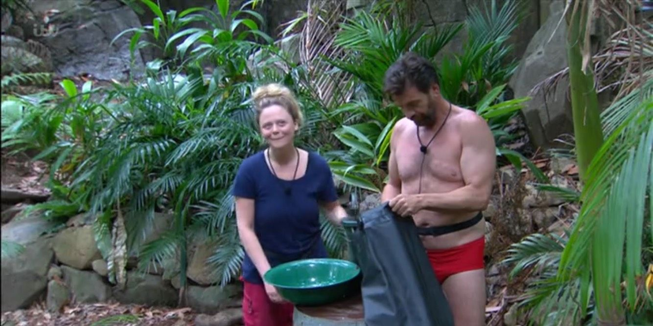I'm a Celebrity 12/4/18: Emily Attack and Nick Knowles in his pants