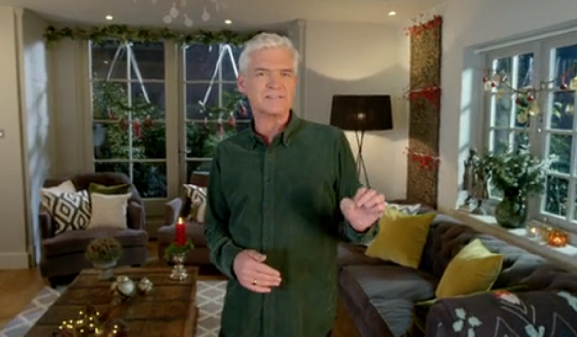 Phillip Schofield reveals funny How to Spend it Well at Christmas fail you didn't see on TV