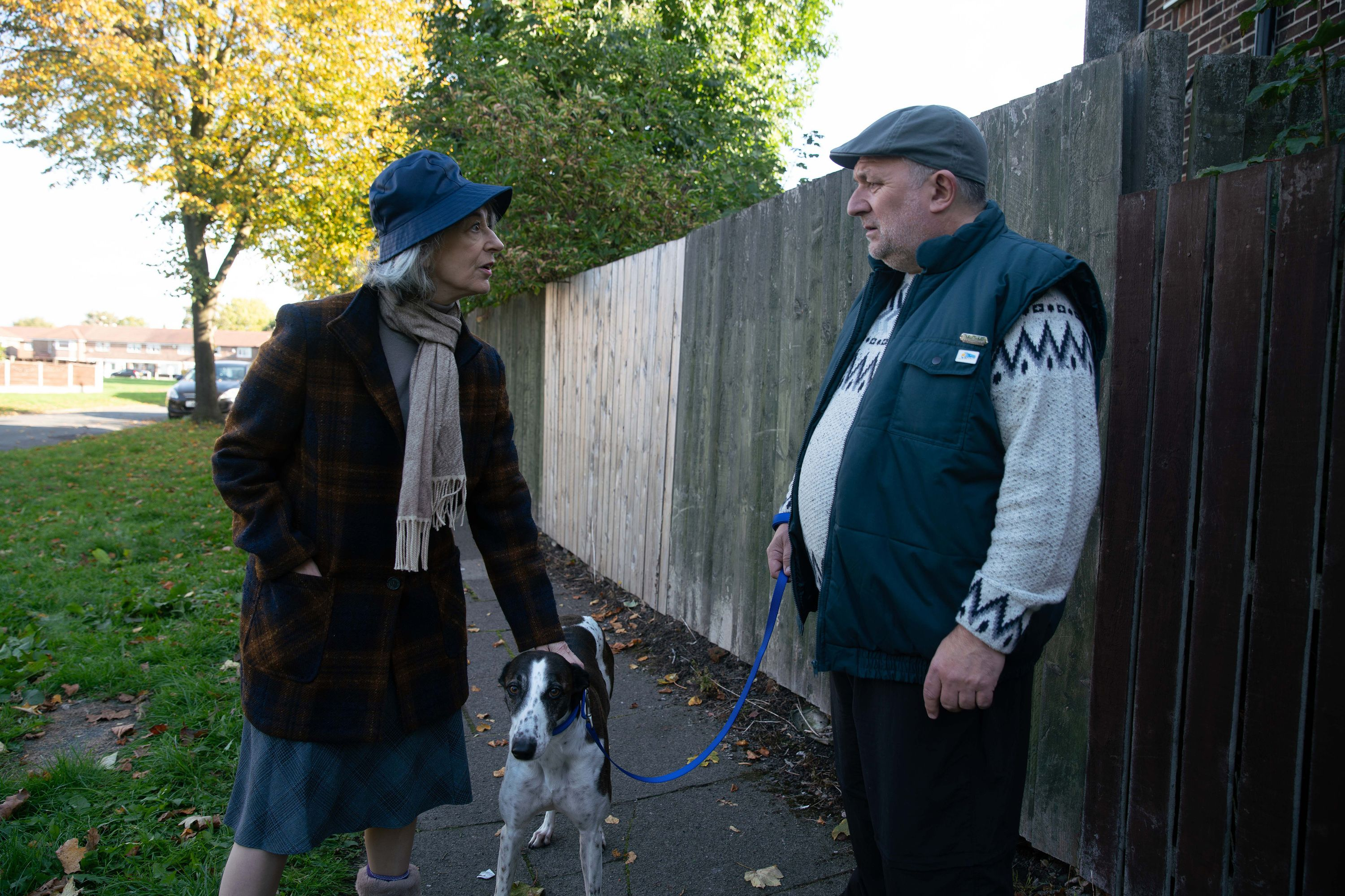 Evelyn Plummer confronts Keith over her dog in Coronation Street