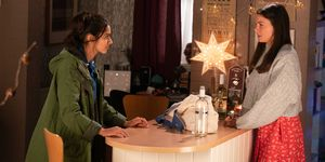 Kate Connor and Rana Nazir split up in Coronation Street