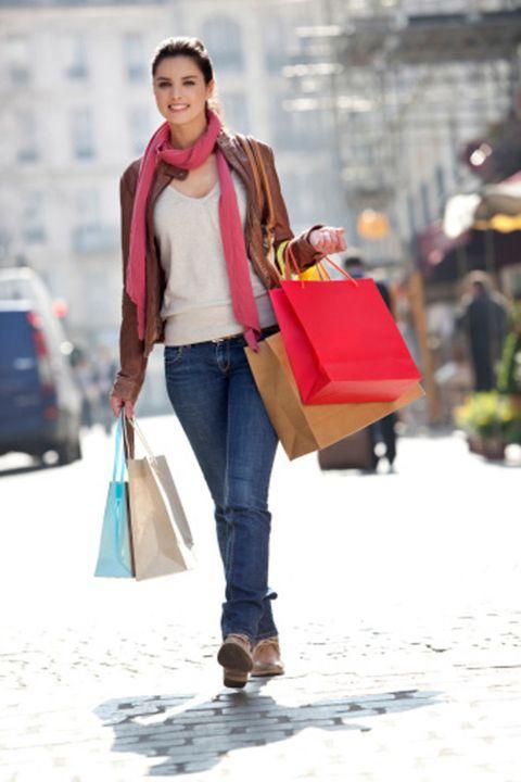 Brown, Trousers, Bag, Denim, Jeans, Textile, Outerwear, Street fashion, Style, Winter,