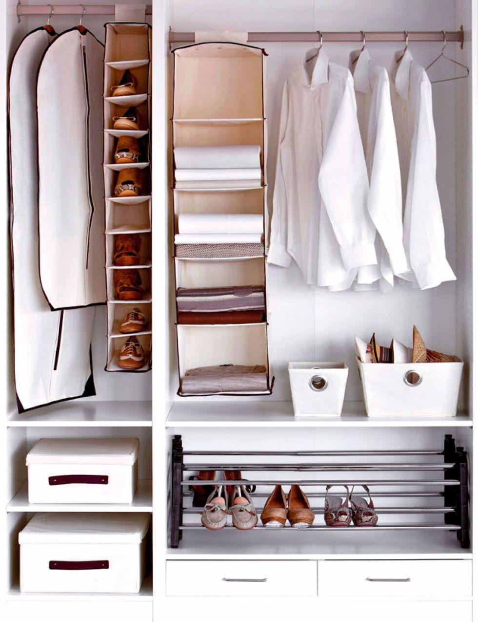 ideas para organizar el armario - Como Organizar Un Armario