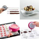 Product, Dishware, Cuisine, Pink, Magenta, Serveware, Dessert, Purple, Sweetness, Office equipment,