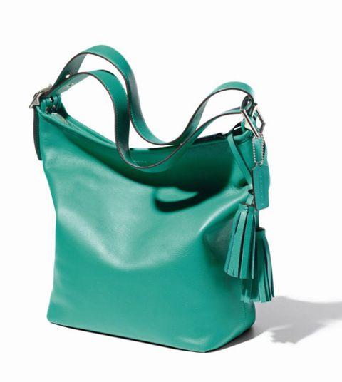 Bag, Style, Shoulder bag, Teal, Luggage and bags, Handbag, Turquoise, Aqua, Hobo bag, Leather,