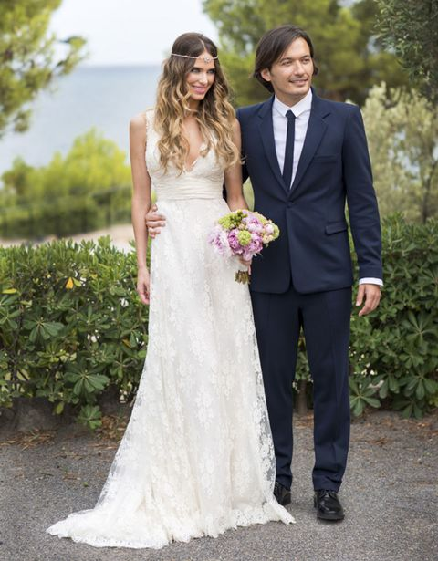 Clothing, Coat, Trousers, Dress, Bridal clothing, Shirt, Textile, Photograph, Outerwear, Petal,