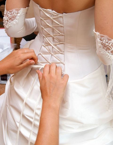 Arm, Finger, Sleeve, Hand, Joint, Wrist, Bridal clothing, Waist, Fashion, Wedding dress,