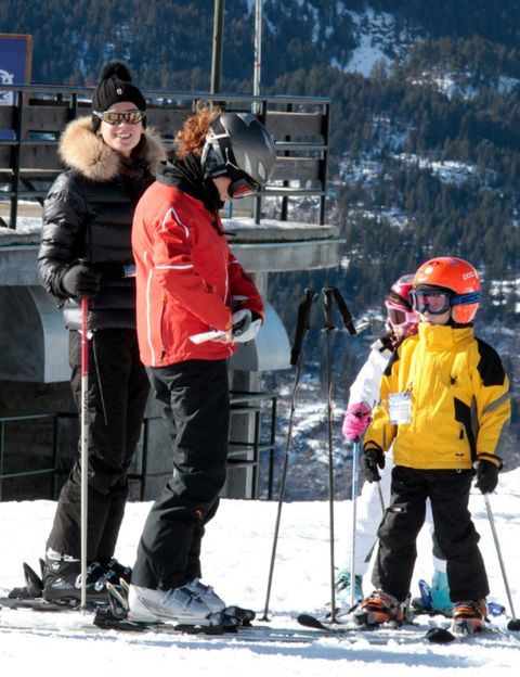 Clothing, Winter, Jacket, Recreation, Trousers, Snow, Winter sport, Goggles, Outerwear, Ski Equipment,