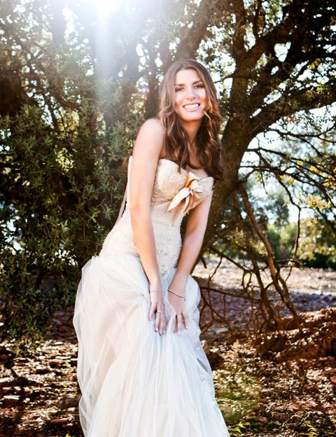 Clothing, Dress, Photograph, People in nature, Sunlight, Gown, Beauty, Waist, Youth, Long hair,
