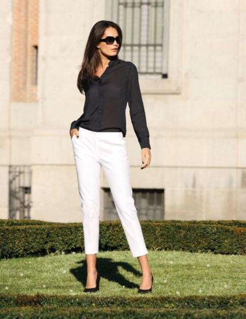 Clothing, Grass, Green, Sleeve, Shoulder, Collar, Sunglasses, Joint, Outerwear, Style,