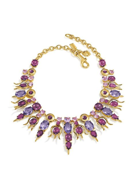 Jewellery, Purple, Violet, Fashion accessory, Lavender, Amber, Magenta, Natural material, Body jewelry, Fashion,