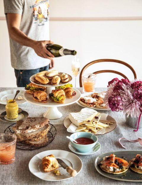Cuisine, Serveware, Food, Meal, Tableware, Dishware, Dish, Table, Finger food, Ingredient,