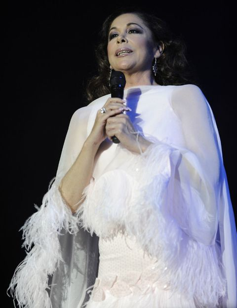 Human, Microphone, Audio equipment, Singing, Singer, Artist, Song, Day dress, Makeover, Costume,