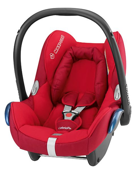 Product, Comfort, Red, Carmine, Baby Products, Car seat, Armrest, Head restraint, Strap, Leather,