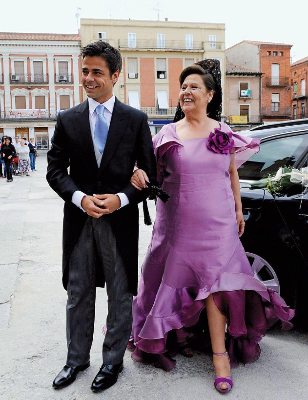 Vestido de novia de rosario domecq
