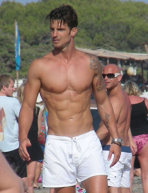 Eyewear, Human body, Chest, Barechested, Summer, Sunglasses, Shorts, Muscle, Trunk, Thigh,