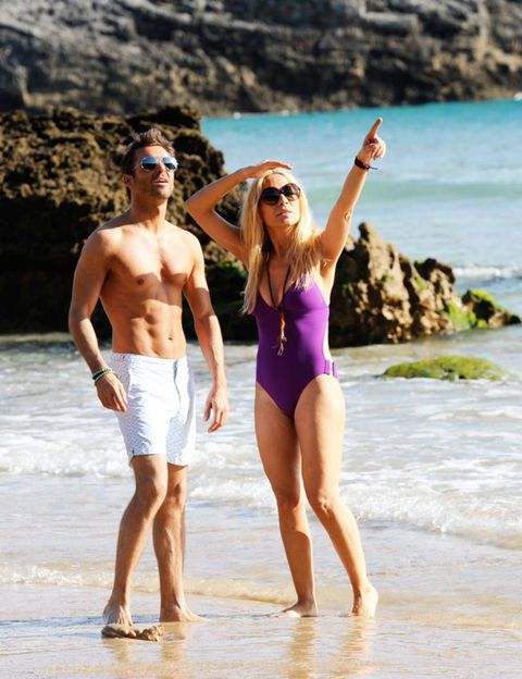 Eyewear, Fun, Human body, People on beach, Event, Goggles, Sunglasses, Standing, Tourism, People in nature,