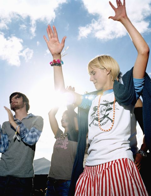 Arm, Finger, Social group, Hand, Happy, Rejoicing, People in nature, Tourism, Gesture, Youth,