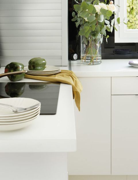 Serveware, Dishware, Green, Plate, Ceramic, Porcelain, Cabinetry, Home accessories, Kitchen utensil, Tap,