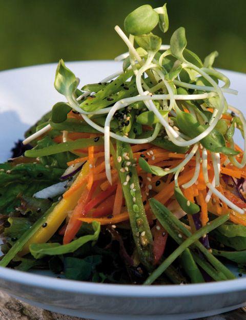 Food, Ingredient, Produce, Vegetable, Leaf vegetable, Whole food, Cuisine, Vegan nutrition, Flowering plant, Salad,