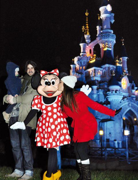 Footwear, Walt disney world, Night, Costume accessory, Mascot, World, Midnight, Costume, Fictional character, Amusement park,