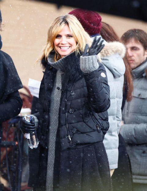 Winter, Human, Jacket, Coat, Textile, Outerwear, Fur clothing, Street fashion, Fashion, Natural material,