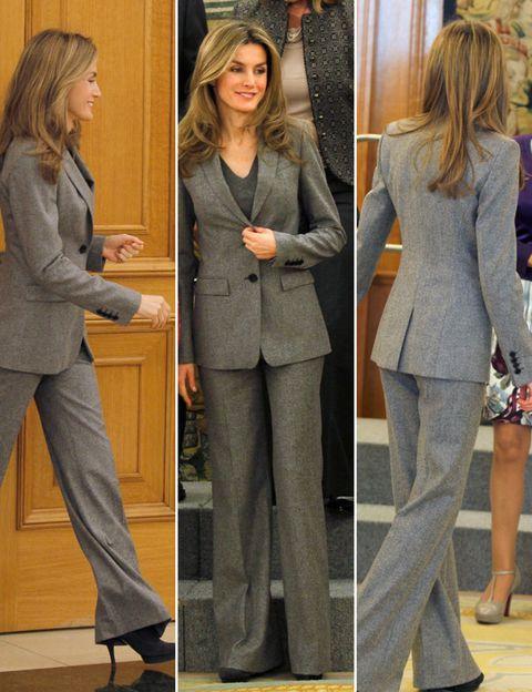 Clothing, Sleeve, Coat, Outerwear, Style, Blazer, Pantsuit, Fashion, Suit trousers, Pocket,