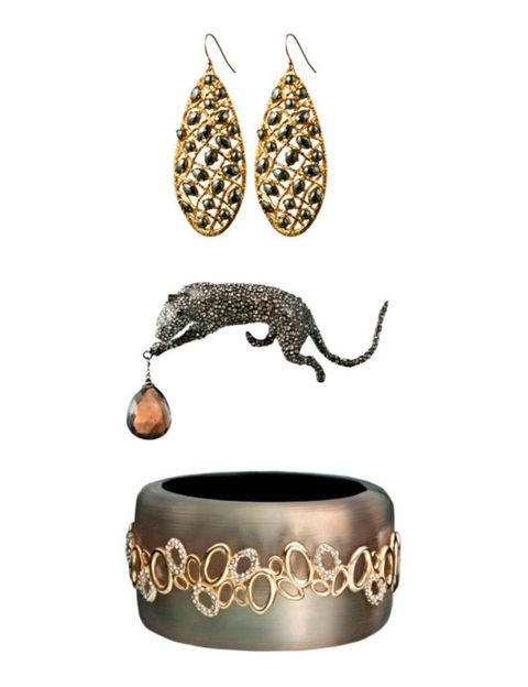 Earrings, Metal, Bracelet, Natural material, Tail, Body jewelry, Brass, Silver, Legume, Claw,
