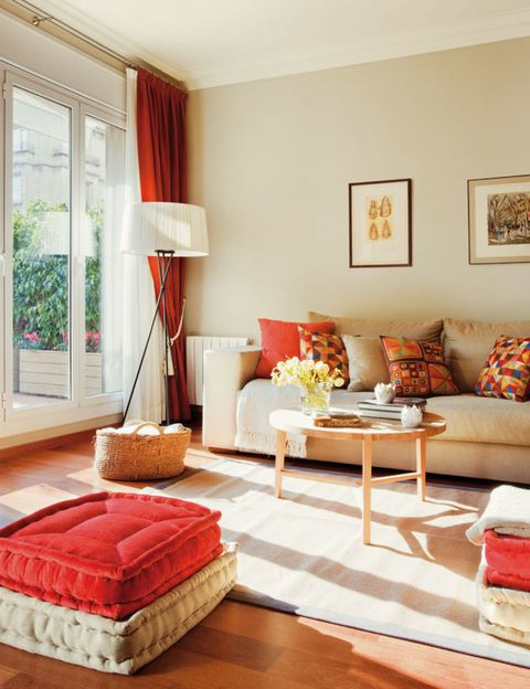 Room, Wood, Interior design, Floor, Flooring, Home, Textile, Furniture, Wall, Living room,