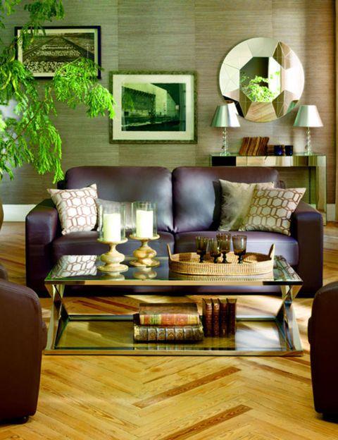 Wood, Green, Room, Interior design, Hardwood, Flooring, Floor, Furniture, Living room, Interior design,