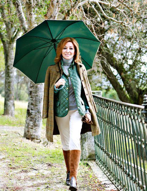 Green, Sleeve, Outerwear, Leaf, Style, Collar, Jacket, Street fashion, Fashion, Umbrella,