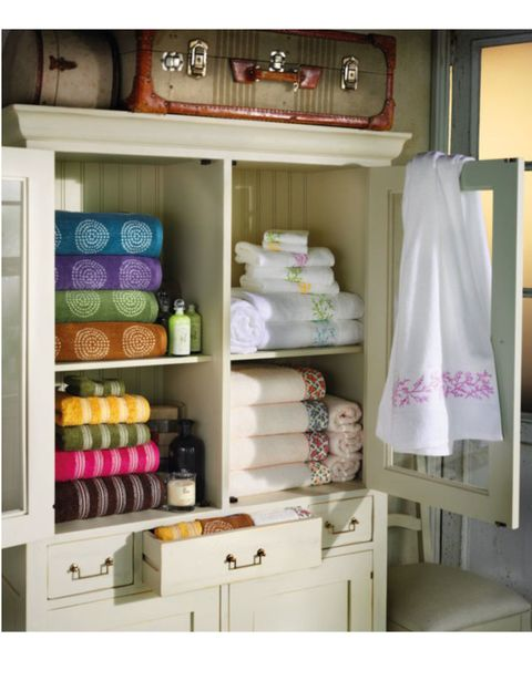 Shelving, Shelf, Interior design, Lavender, Peach, Collection, Cabinetry, Food storage containers, Household supply, Drawer,