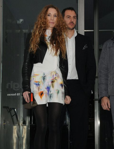 Trousers, Coat, Outerwear, Suit trousers, Facial hair, Beard, Fashion, Blazer, Long hair, Tights,
