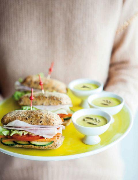Finger food, Food, Cuisine, Ingredient, Sandwich, Dish, Meal, Breakfast, Produce, Recipe,