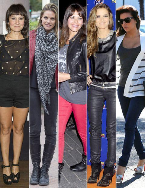 Clothing, Footwear, Eyewear, Leg, Textile, Outerwear, Sunglasses, Style, Thigh, Fashion accessory,