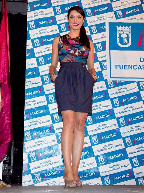 Dress, Shoulder, Style, One-piece garment, Fashion accessory, Electric blue, Fashion, Flag, Cocktail dress, Day dress,