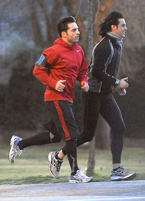 Footwear, Shoe, Outerwear, Athletic shoe, Sportswear, Running, Sneakers, Jogging, Endurance sports, Player,