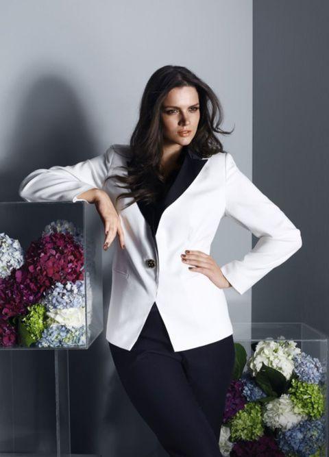 Clothing, Sleeve, Collar, Outerwear, Formal wear, Coat, Suit trousers, Blazer, Fashion, Pantsuit,