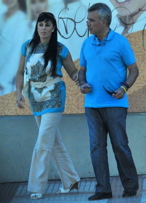 Blue, Trousers, Denim, Shirt, Shoe, T-shirt, Azure, Electric blue, Cool, Street fashion,