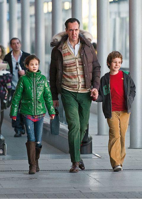 Clothing, Footwear, Leg, Winter, Trousers, Jacket, Coat, Textile, Standing, Outerwear,