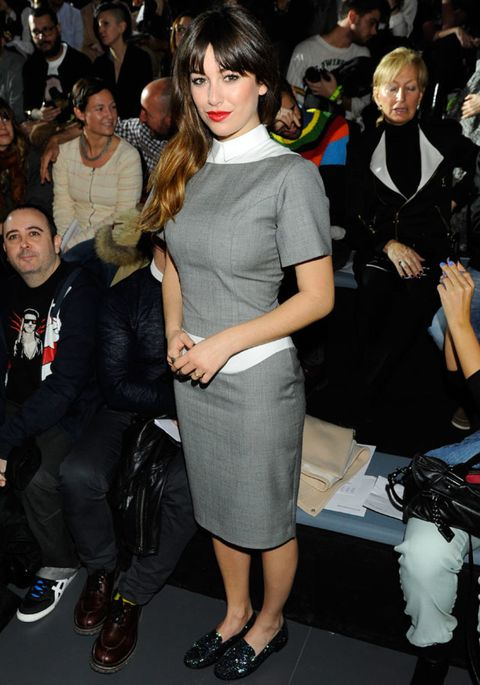 Clothing, Face, Leg, Event, Outerwear, Style, Fashion accessory, Dress, Fashion, Fashion model,
